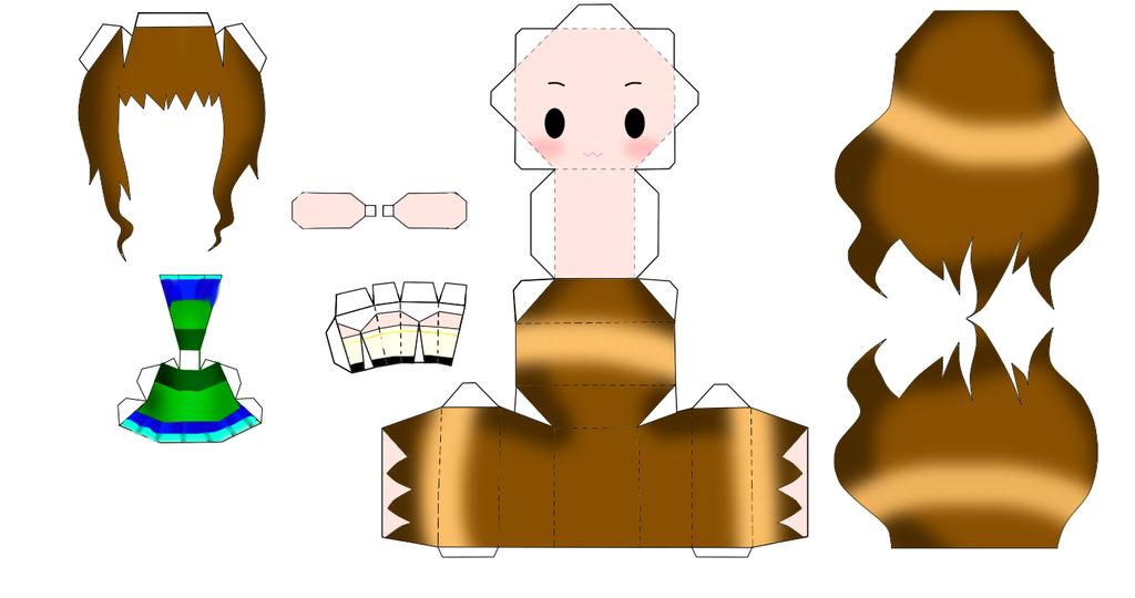 Kyla Papercraft 8D by yume-soul210