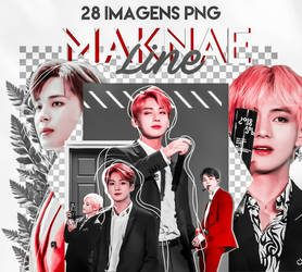 BTS 28 || Pack Png // Maknae line