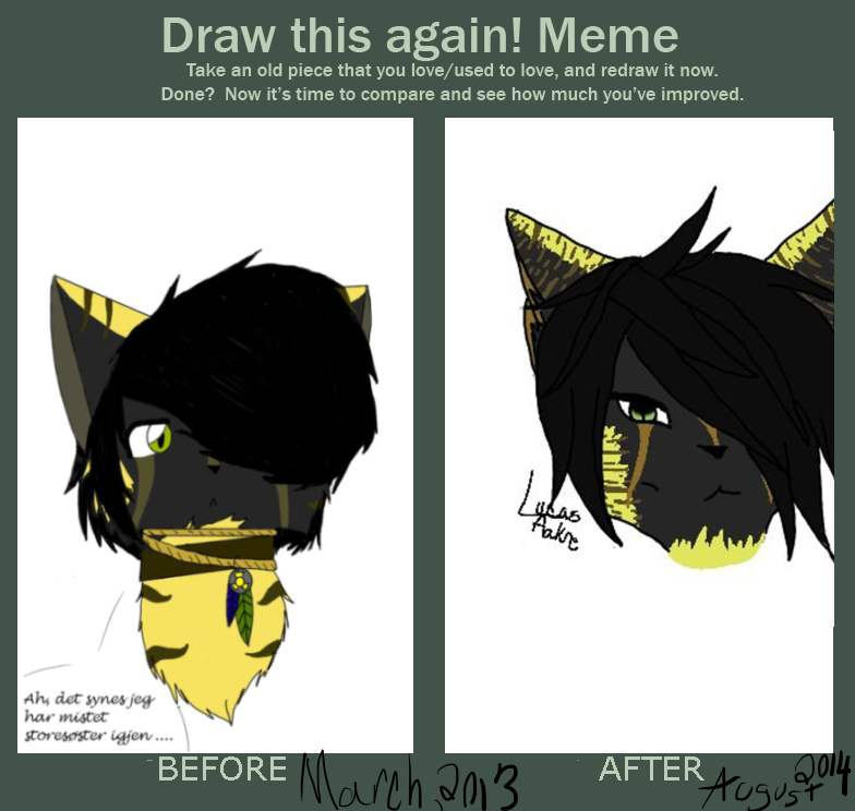 Before and After meme by Yumenoookami