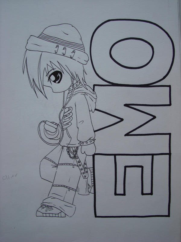 Emo Kid Coloring Pages Image Search Results