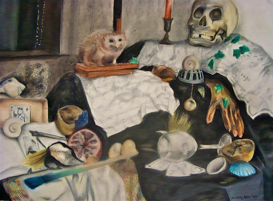 Vanitas Still Life by sapphiresky1410