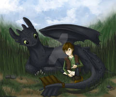 HTTYD - Hiccup and Toothless