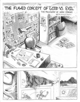 Philosophy of Miyazaki Comic Page 1
