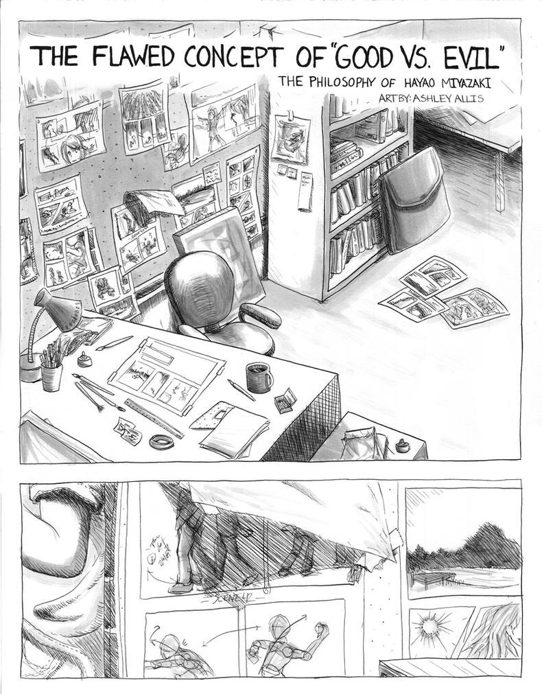 Philosophy of Miyazaki Comic Page 1 by sapphiresky1410