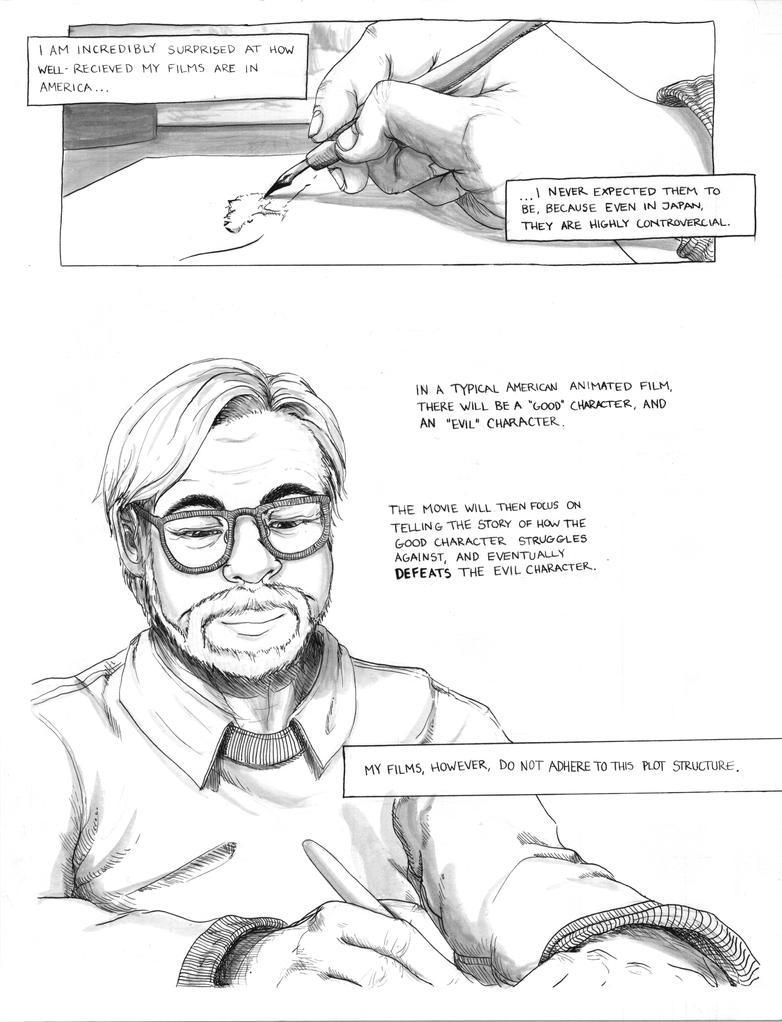 Philosophy of Hayao Miyazaki Comic Page 2 by sapphiresky1410