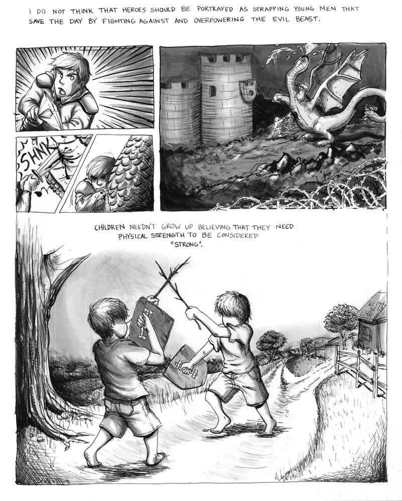 Philosophy of Hayao Miyazaki Comic Page 3 by sapphiresky1410