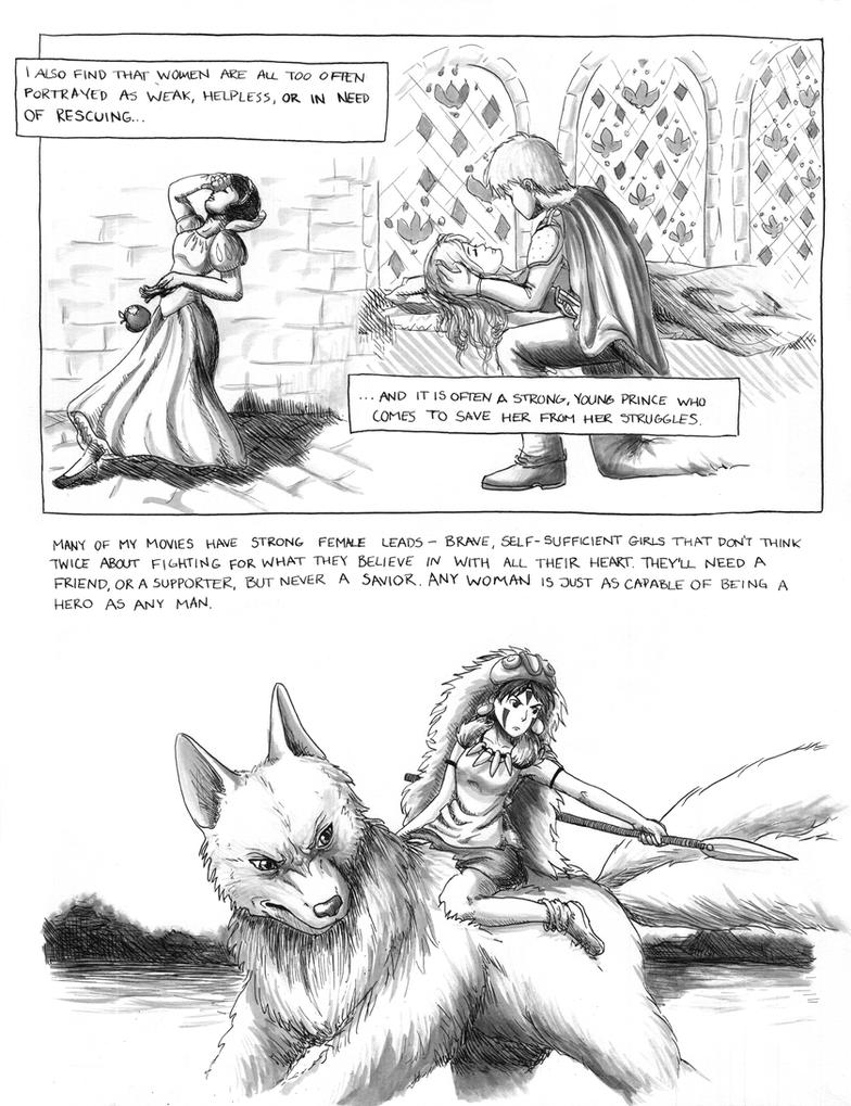 Philosophy of Hayao Miyazaki Comic Page 4 by sapphiresky1410