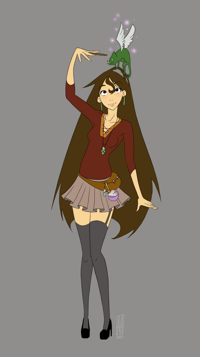 My Witchsona! by sapphiresky1410