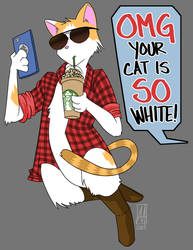 OMG Your Cat is SO White!
