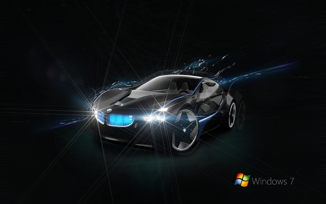 win 7 bmw black wallpaperkubines on deviantart