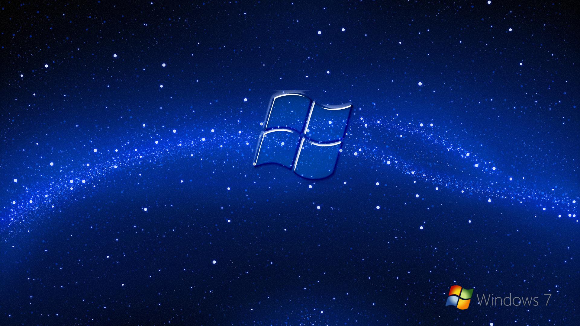Windows7 Blue Wallpaper By Kubines
