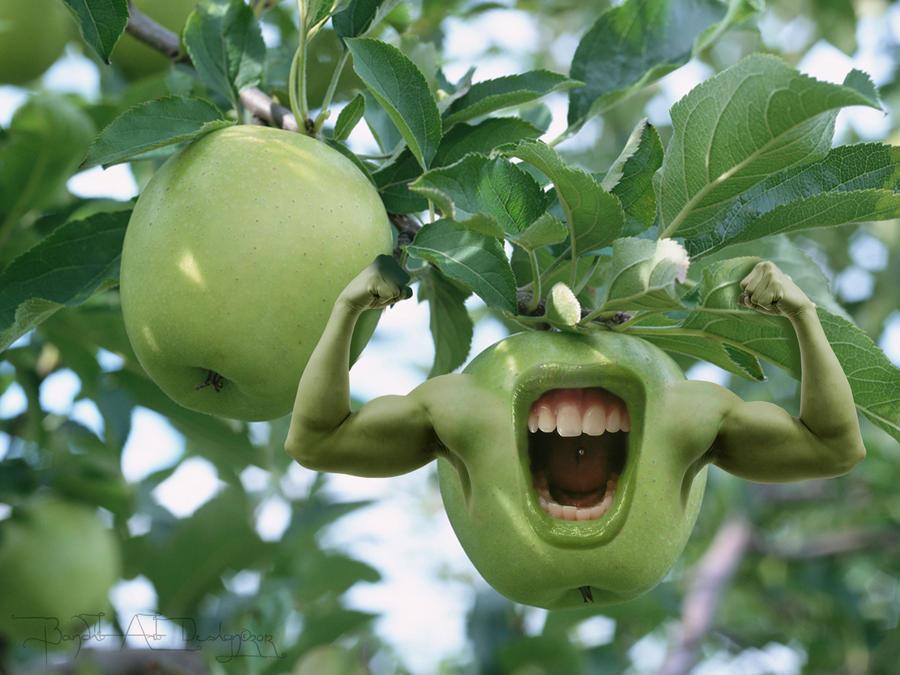 Fruit makes you healthy... by BanditArtDesign