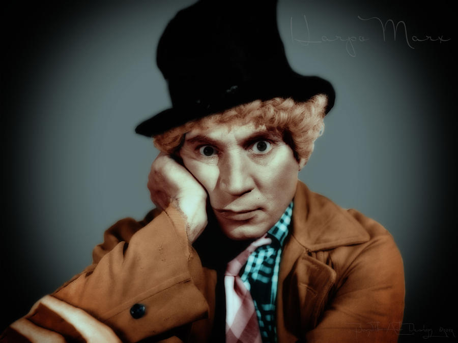 Harpo Marx by BanditArtDesign