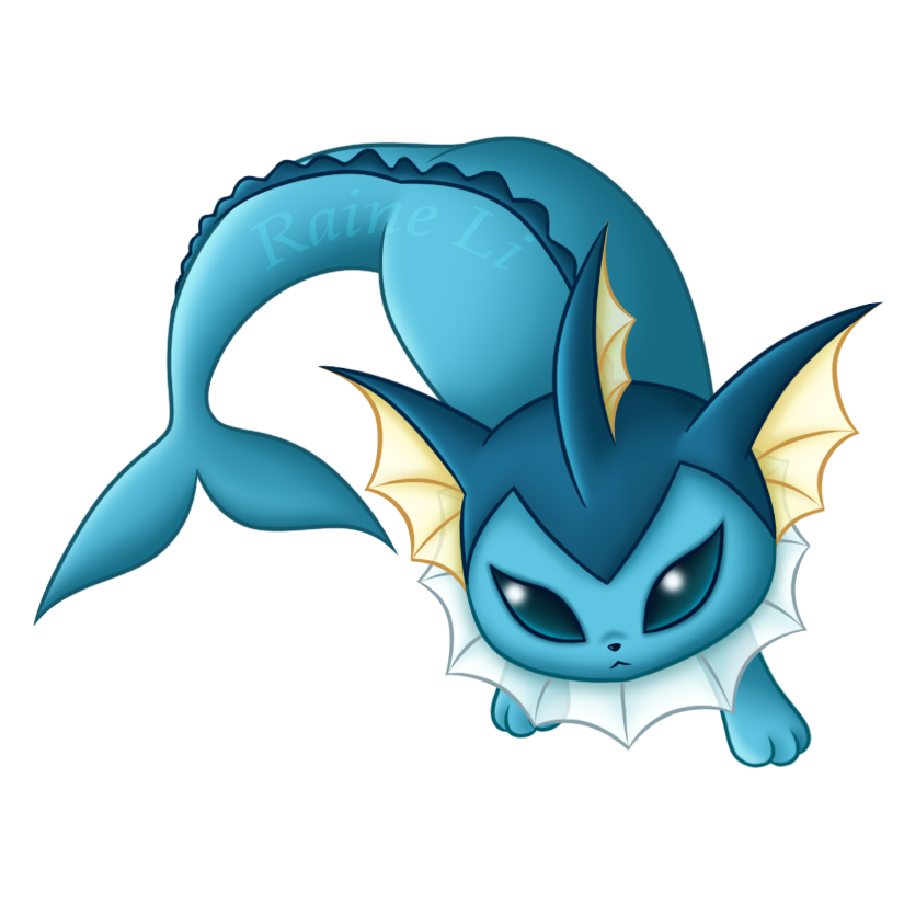 Vaporeon by RaineLi