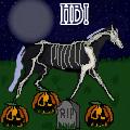 Halloween Pixel Horse by SLEC-EqIsMyLife