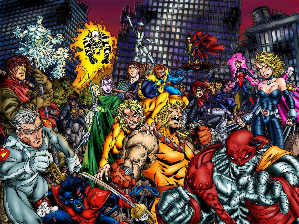apocalypse color apocalypse xmen apocalypse island apocalypse version ... X Men Age Of Apocalypse Blink