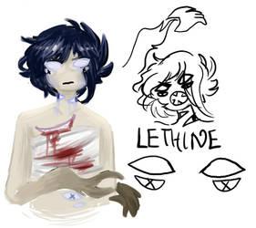 [OC]LETHINE by HeadOfImagination