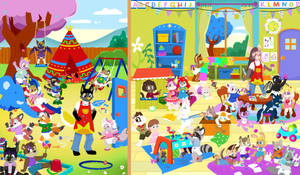 Easter at Preschool (Diapers!)