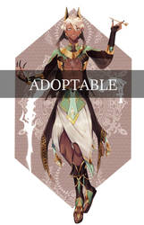 [ADOPTABLE] Anubis second version [AUCTION OPEN]