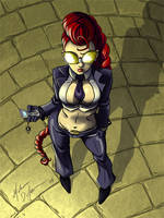 Crimson Viper Fan Art by MistressMiel