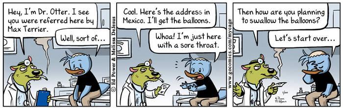My Cage comic strip by MistressMiel