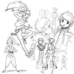 Generic Sketches by MistressMiel