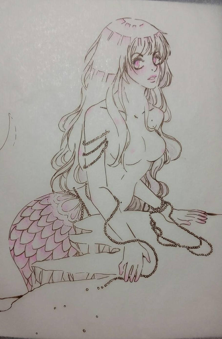 Mermaid  by Tamoko