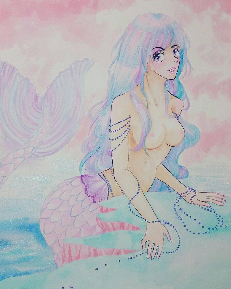 pastel Mermaid by Tamoko