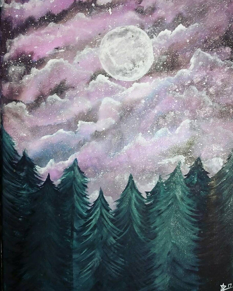 Moon Forest by Tamoko