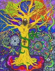 Yggdrasil by DustyScarecrow