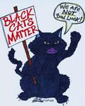 El Gato Negro es MUY Discontinto. . . by DustyScarecrow