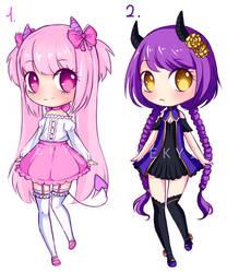 Demon Girls Adopts [Closed] by Kekyi-Adopts