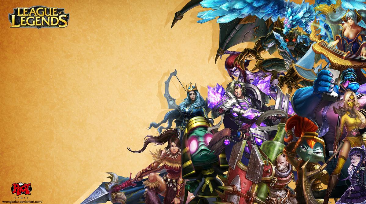 League of Legends: Wallpaper by WrongBaku on DeviantArt