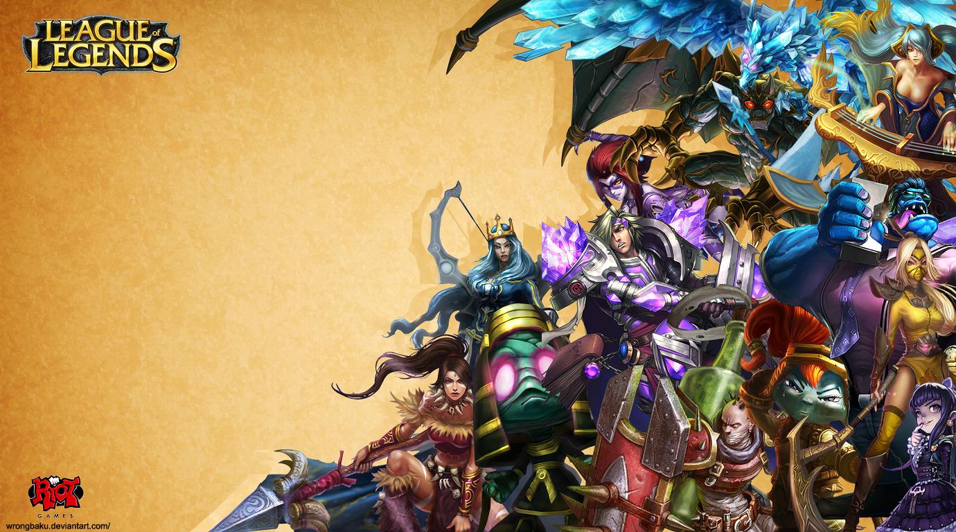 League of Legends: Wallpaper by WrongBaku