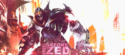 Kneel before ZED by WrongBaku