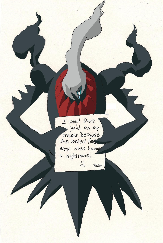 Pokemon Shaming- Darkrai by Scorponis on DeviantArt