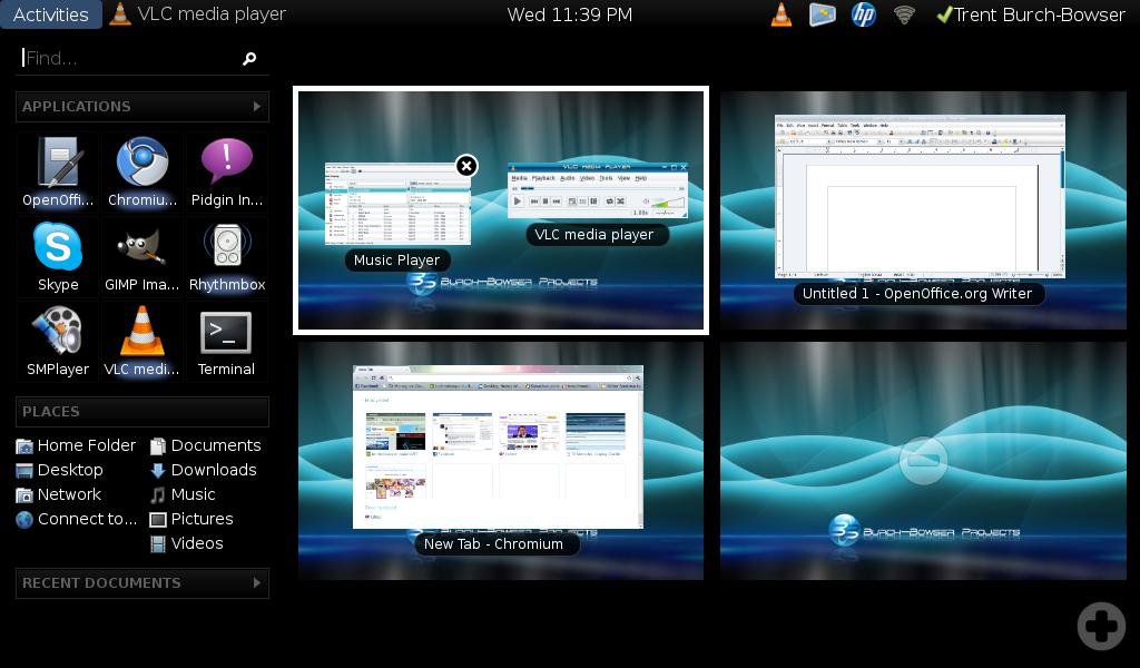 GNOME-Shell on Nimie by technokoopa