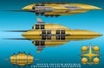 Crusader-Class Destroyer - Novus Initium Republic