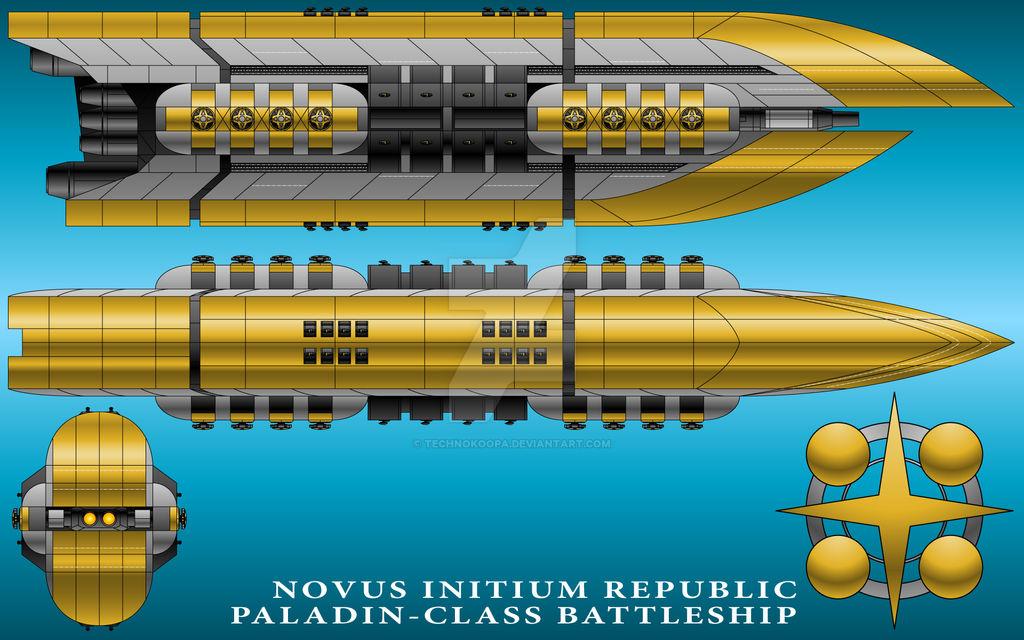 Paladin-Class Battleship - Novus Initium Republic