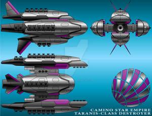 Taranis-Class Destroyer - Camino Star Empire