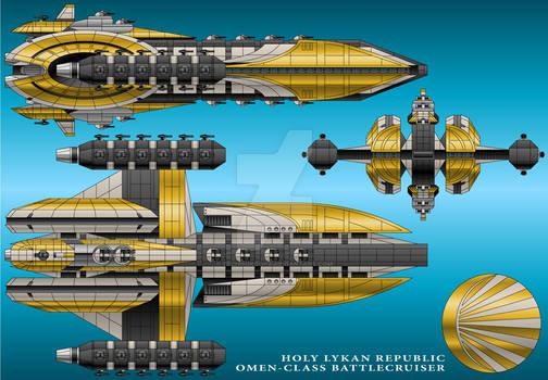 Omen-Class Battlecruiser - Holy Lykan Republic