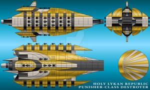 Punisher-Class Destroyer - Holy Lykan Republic