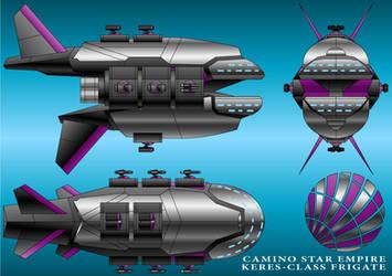 Keres-Class Frigate - Camino Star Empire by technokoopa