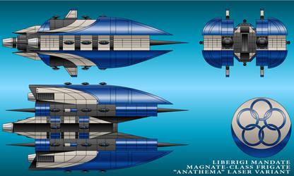 Anathema-Class Frigate - Liberigi Mandate by technokoopa
