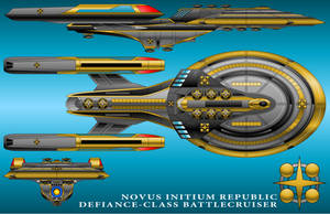 U.S.S. Defiance - Novus Initium Republic Version