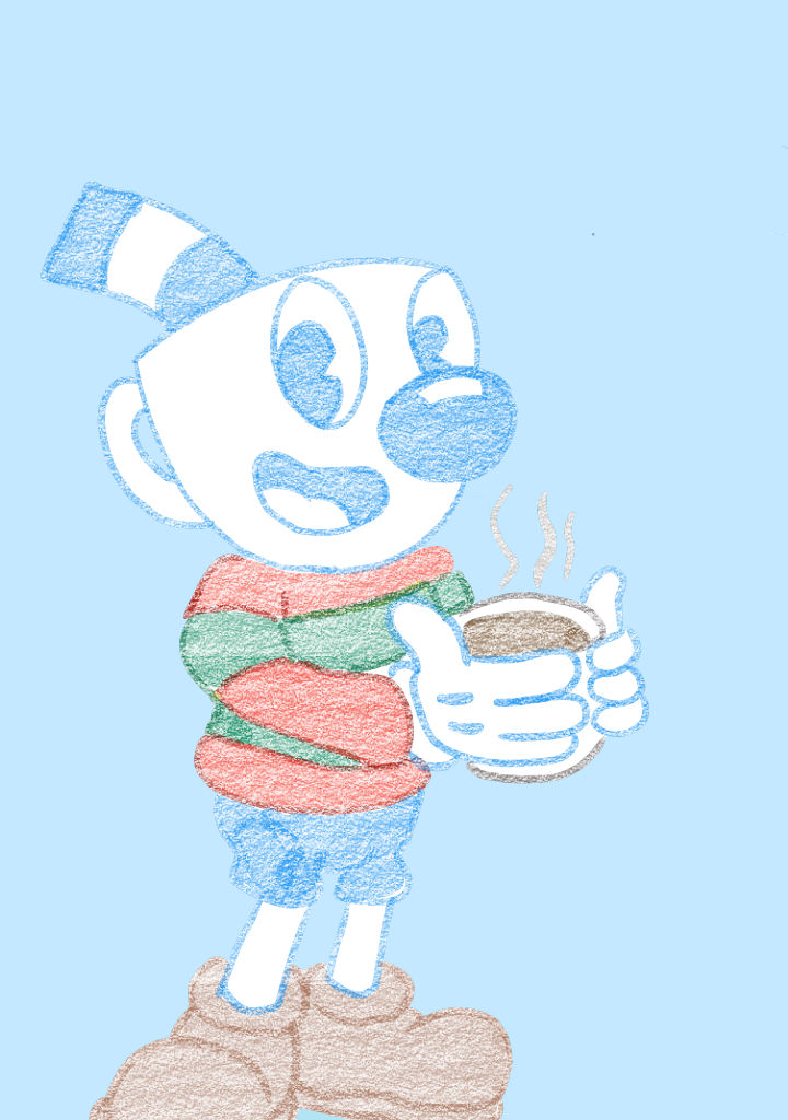 Have some hot cocoa