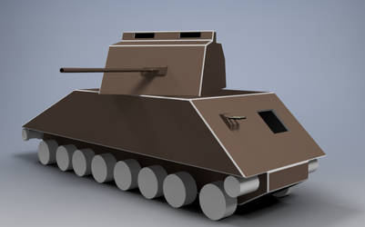 RMX-54 Mk III Model D WiP 1