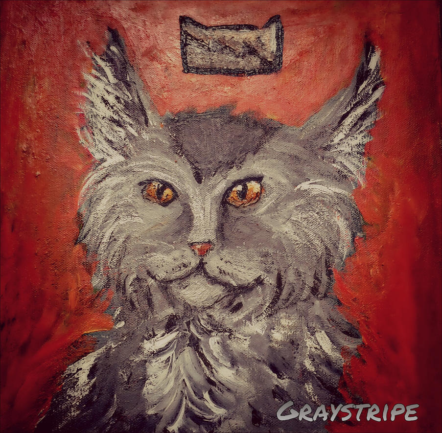 Warriors: Graystripe portrait by AnimalHearted