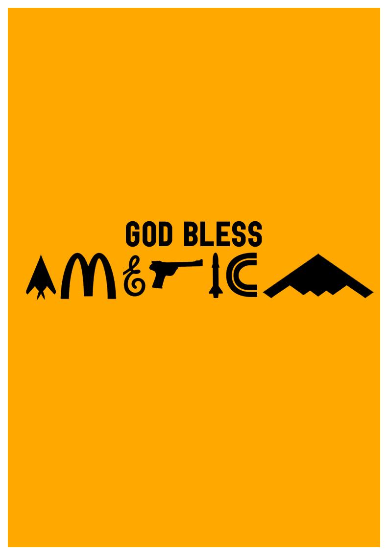 God Bless America by JamesRandom