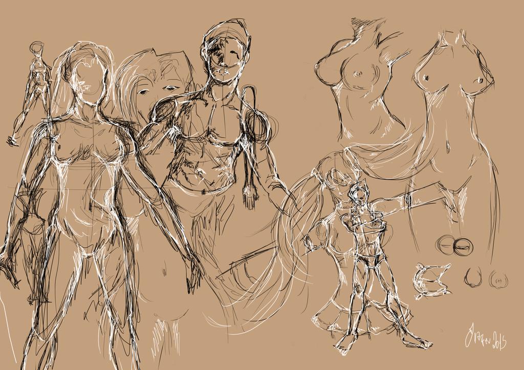 Bodystudies by BeNeko